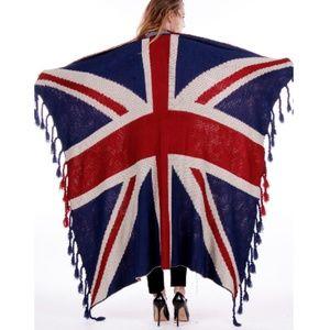 Ultra Plus Soft Knit United Kingdom Blanket Throw